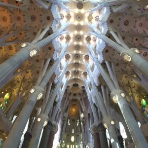 バルセロナで建築物を巡る2 ガウディ建築【サグラダ・ファミリア聖堂】編