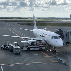 【JAL (J-AIR)】エンブラエル170 新千歳ー花巻 往復搭乗記