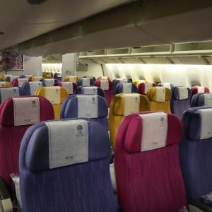 タイ航空 デンパサール✈️バンコク✈️札幌 エコノミークラス搭乗記