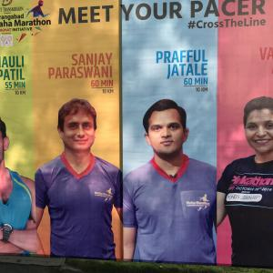 「アラウンガバード マハ マラソン」に参加しましたINインド