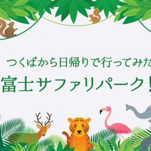 【つくばから日帰りで行ってみた】子供の頃の夢!富士サファリパークに行ってきたよ!