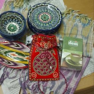 トルクメニスタン・ウズベキスタンのお土産