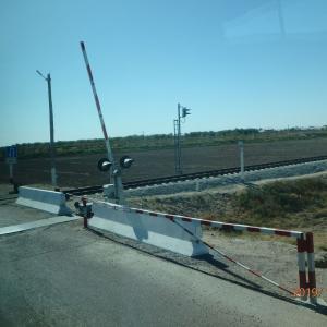 ウズベキスタン トルクメニスタンへ国境越え