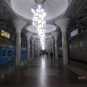 ウズベキスタン タシケントの地下鉄