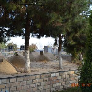 ウズベキスタン タシケント 日本人抑留者墓地
