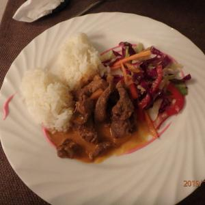 ウズベキスタン ホテルの夕食 そして帰路へ