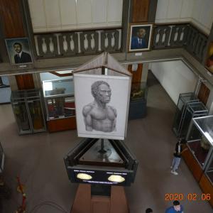 エチオピア アジスアベバ 博物館見学