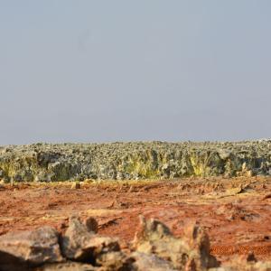 エチオピア ダロール火山の様子