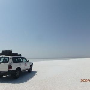 エチオピア ダナキル アサレ塩湖