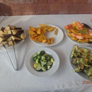 エチオピア ラリベラ 朝食
