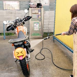 すごいぞ‼️高圧洗浄機と隼女子✨