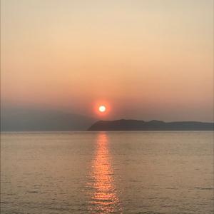 和歌山 大阪 癒しの夕焼けをお裾分けさせていただきます♡