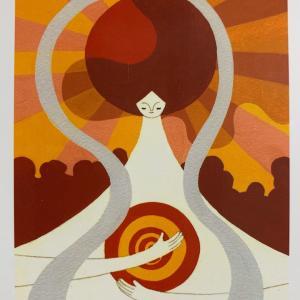 今日の神様カードメッセージ 自分の内なる太陽、無限の自己、最高の自分につながりましょう。