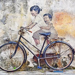 4歳児の自転車練習、改めて感じたうちの兄弟の違い、育児の面白さ
