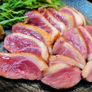 【おうちご飯】鴨のロースト&かつおのタタキ