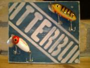 釣り道具のインテリア