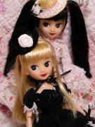 お人形たちの写真