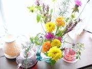 ハーブいけ花&アロマテラピー