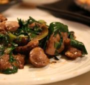 レバー(肝臓)料理