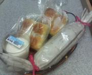 誰かに贈る手作りパンとお菓子