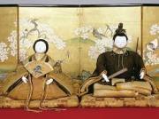 日本の古い人形