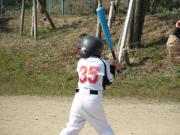 夢は大きく、頑張れ!少年野球。