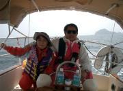 ヨットで日本一周を夫婦で