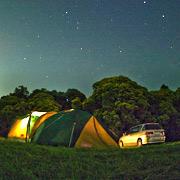 キャンプ写真