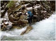 山岳渓流釣り