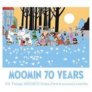 ムーミン生誕70周年