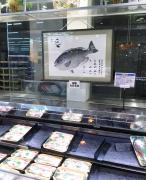 魚拓も看板