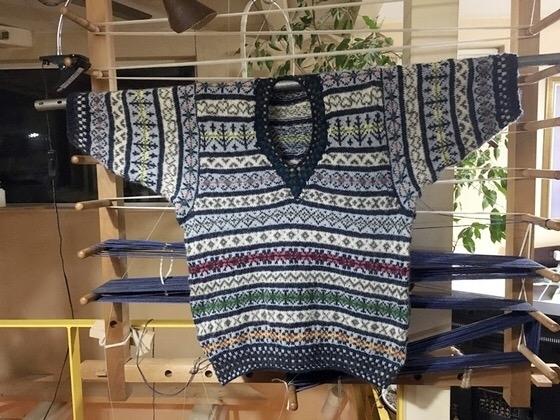 編み物フェアアイル