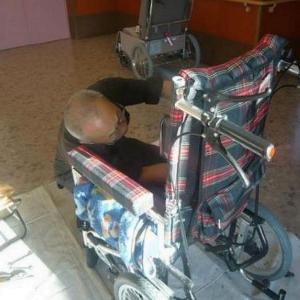 車椅子の整備