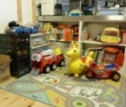 子供のおもちゃ、収納